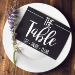 SET – The Table